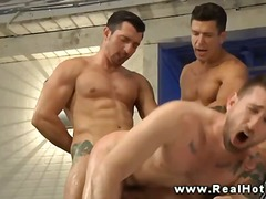 gangbang, rimjob, dp, tattoo, gay,