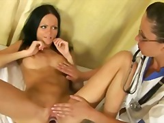 Tube8 Movie:Hot brunette girl seduced by l...