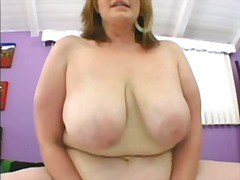 Blonde mature bbw video