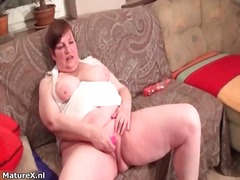 Thumb: Dirty mature woman goe...