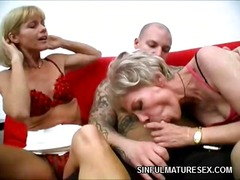 Mature chicks 3some - 03:00