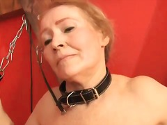 Granny punished in the dungeon by lesdom