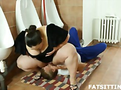 Fat brunette jitka fac... video