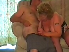 A fat granny has sex w...