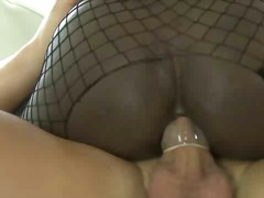 See: Black shemale fucked b...