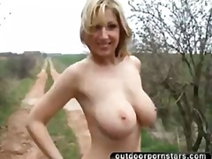 Tube8 Movie:Busty blonde gets naked and ma...