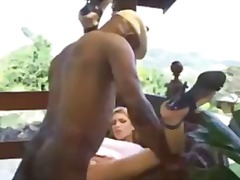 Hot young blonde fuckin old man