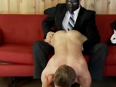 Handjob for hunky miss... video