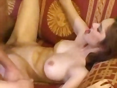 Perfect redhaired angel being fucked