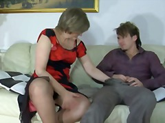 Nephew fucked not his mature aunt