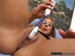 Her pussy squirts from... - Alpha Porno