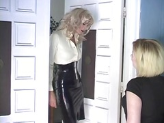 Horny dominatrix slut ...