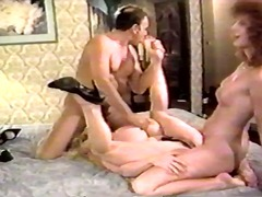 threesome, ass, girls, vintage,