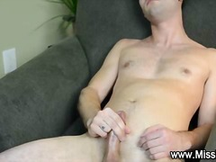 Teen religious hunk blows his load