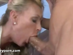 milf, young, cougar, blonde