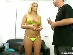 Katie banks is a blond...