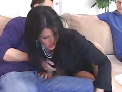 Mommy gets to have young cock