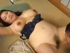 fingering, mature, asian, sleep,