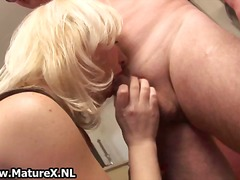 dildo, wife, blonde, solo, blowjob,