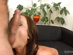 oral, vaginal, shaved, blowjob, shot, cum