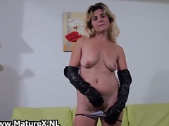 masturbation, solo, stockings,