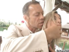 Rocco siffredi is getting ready for