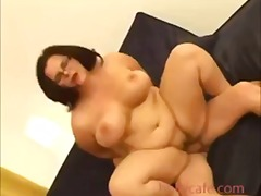 Tube8 - Fat bitch gets rammed ...