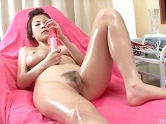 oil, japanese, dildo,