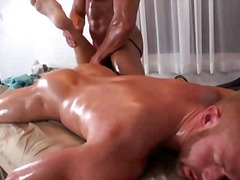 ass, lick, gay, oil, massage