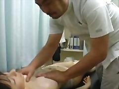 Beauty parlor massage spycam orgasm
