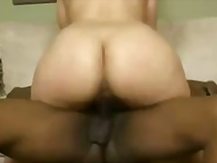 Sexy big booty white girl crawls to f...