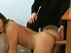 Nude job interview wit...