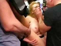 butt, tied, ass, gangbang, disgrace