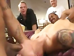 facial, threesome, kraven, cumshot