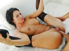 stockings, latin, boobs, hardcore, doggystyle, couple,