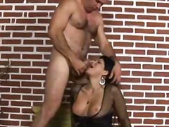 Luxurious brunette she... video