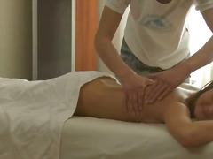 masseur, fingering, video, big, loves, oil