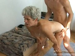 Hairy granny pussy sla... preview