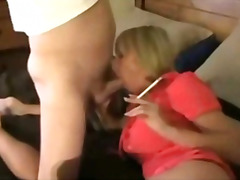 Mom fucks husband and son