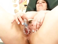 chubby, lady, mom, old, plump, fat, milf, older, busty, mother, bbw, pussy, mature, exam