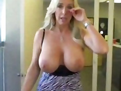 tits, boobs, blowjob, blonde, milf, mature