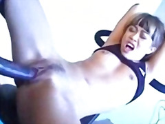 Leanni lei - workout anal