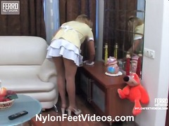 Yobt Movie:Hot nylon feet videos video st...