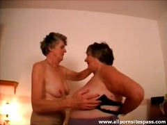 Mature lesbians bring out the toys for sex