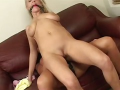 Perverted lesbian anal sex