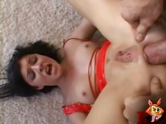 Ass fuck whore wants a load in her mouth