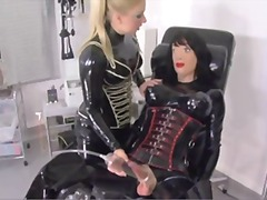 Rubberdoll treatment - Xhamster