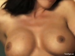 pussy, work, natural, brunette, solo, monster, school, masturbation, boobs, mature, tits