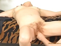 Fingering old hairy pu... video