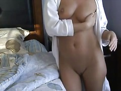 Alpha Porno Movie:Sexy chick strips from robe an...